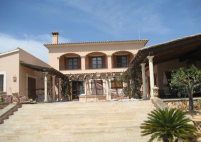 Fassadenanstrich Mallorca