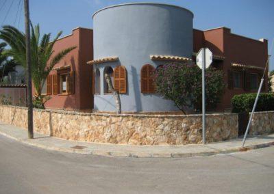 Fassadenarbeiten in Mallorca